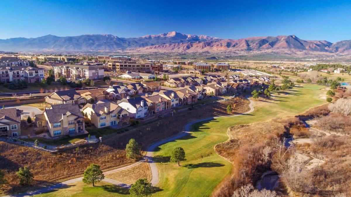 Aerial Video Colorado Springs